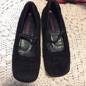 Prada Black Mary Jane Flats